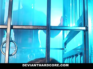 DeviantHardcore - interracial ass fucking stunner Gets dominated