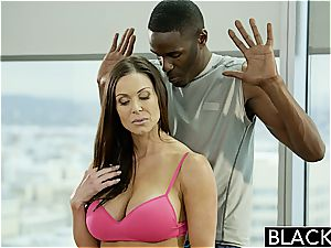 BLACKED fitness babe Kendra fervor likes immense black rod