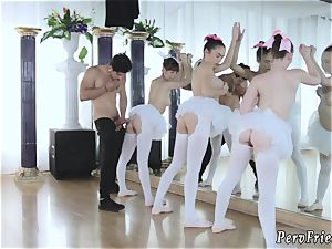 chief s sisters super hot creampie Ballerinas