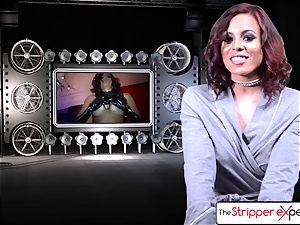 The Stripper practice - Luna starlet her moist taut fuckbox