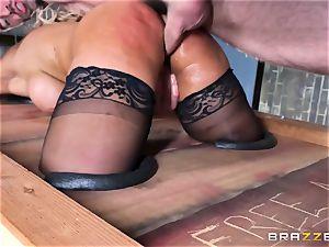 Free ass-fuck appeal with busty Spanish senorita Bridgette B