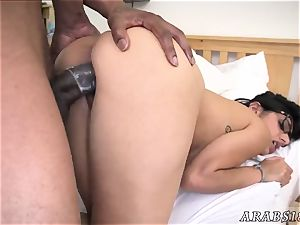 Arab lawyer female drilling inside her office with hardcore I am a sucker for a QB
