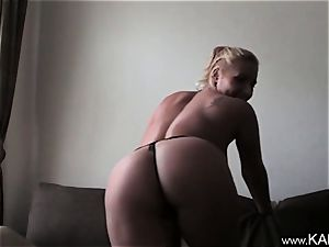 Kam54 insane cougar unsheathes Herself On cam