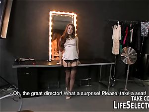 French director auditions her wannabe actresses