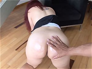 OPERACION LIMPIEZA - uber-sexy Latina maid gets pummeled point of view