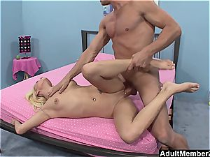 fat dick For ash-blonde babe Teagan Summers