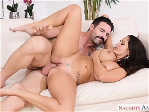 Ava Addams boned on the couch
