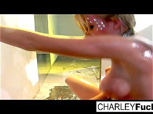 Madison Scott and Charley pursue drill