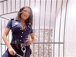 VR PORN-August Ames Get pummeled rigid in prison