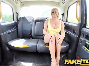 faux cab enormous globes light-haired Michelle Thorne