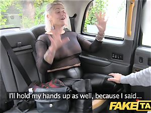 fake cab blonde milf gets surprise rectal intercourse