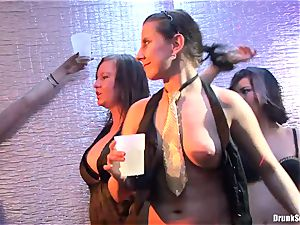 Bibi Fox, Tarra milky and Carla Cox wild and insatiable