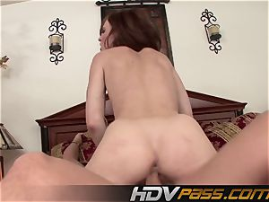 HDVPass Riley shy gets pounded from bashful to mischievous as hell