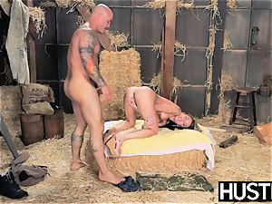 sensitized Kat Dior gets pummeled wildly by her camera guy