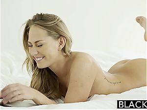Carter Cruise enjoys big black cock