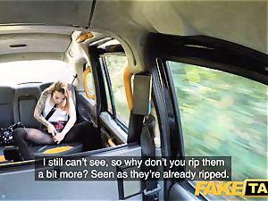 fake taxi diminutive Kylie Nymphette muff ravaged