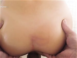 point of view - jaw-dropping pornographic star Joseline Kelly rammed in her tight pussylips