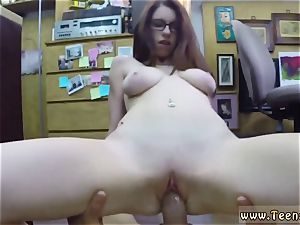 hefty rump tits school woman Jenny Gets Her booty screwed At The Pawn Shop