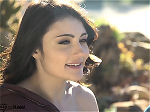 Pretty and raw - Adria Rae first IR dp