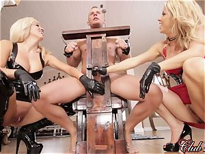 sultry Ms. Alexis Fawx dominates her fresh subjugated