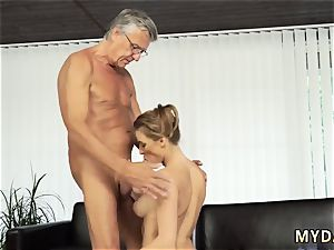 senior mom pokes associate comrade first-ever time romp with her boypatron´s father after