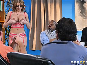 Britney Amber getting gang romped