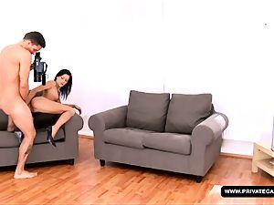 A pornography casting for fuck-fest star wannabe Missy Nicole