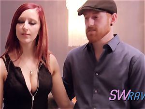 super-naughty redheads step out of their comfort zone for a real joy time