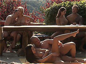 Outdoor fuck-fest joy and pornography games episode four