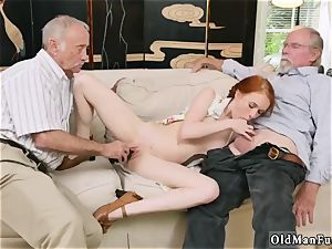 internal cumshot older massive grannie and 2 man pulverize young lady Online hook-up