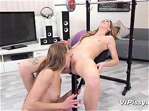 urinating lesbos Alexis Crystal And Barbara mouth-watering