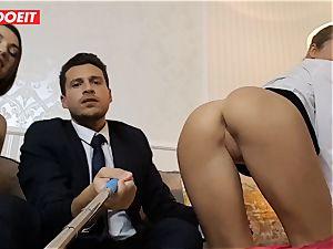 LETSDOEIT - insatiable wifey Gets drilled hard-core By Swingers