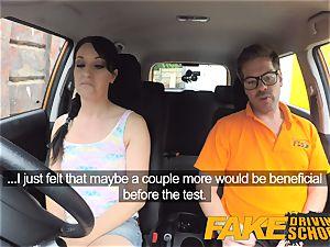fake Driving college muddy internal cumshot climax