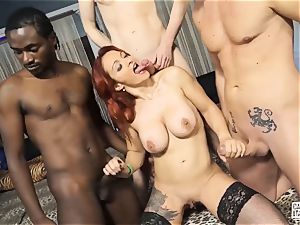 audition ALLA ITALIANA - bi-racial hookup with Luna Oara