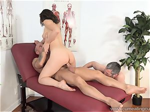 Jade Nile Has Her hubby deep-throat trouser snake and witness Her