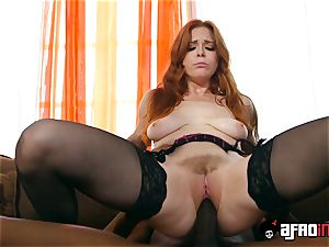 casting ALLA ITALIANA ginger-haired pounded by a black weenie
