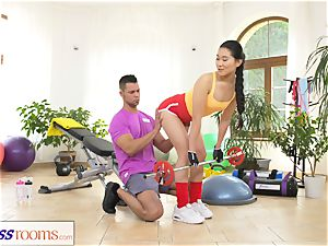 fitness rooms hard-core gym fucking and facial