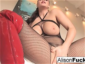 Alison Tyler makes you wank your meat for her