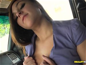 Zoey Foxx picked up and pummeled
