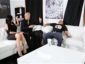servant fucks his chief Jaclyn Taylor while her spouse sleeps