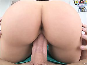 Mia Malkova's ideal butt is worth adore