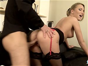 LA COCHONNE - super-steamy assfuck with nasty French light-haired