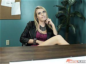Natalia Starr tears up her prospective boss