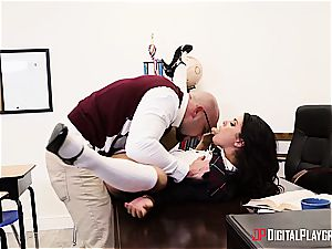 insane student is worth to be disciplined for her misbehavior