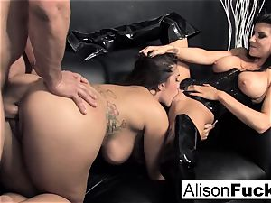 3-way gonzo energetic bang-out with Alison