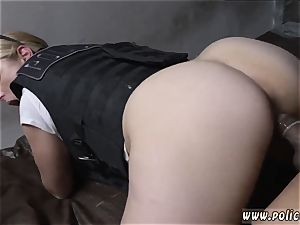 blonde mummy hairy twat masturbation and enormous rump white cop Purse Snatcher Learns A