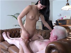 old porno scorching legal years aged virgin fucky-fucky with older fellow