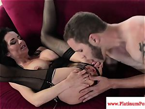 marvelous Veronica Avluv nails and deepthroats firm pink cigar
