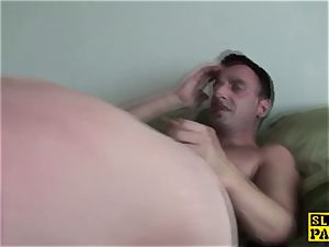 brit female dom facefucked by male domination
