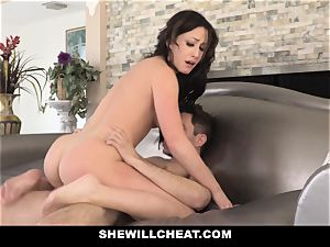 SheWillCheat molten wife Cheats with spouses playmate